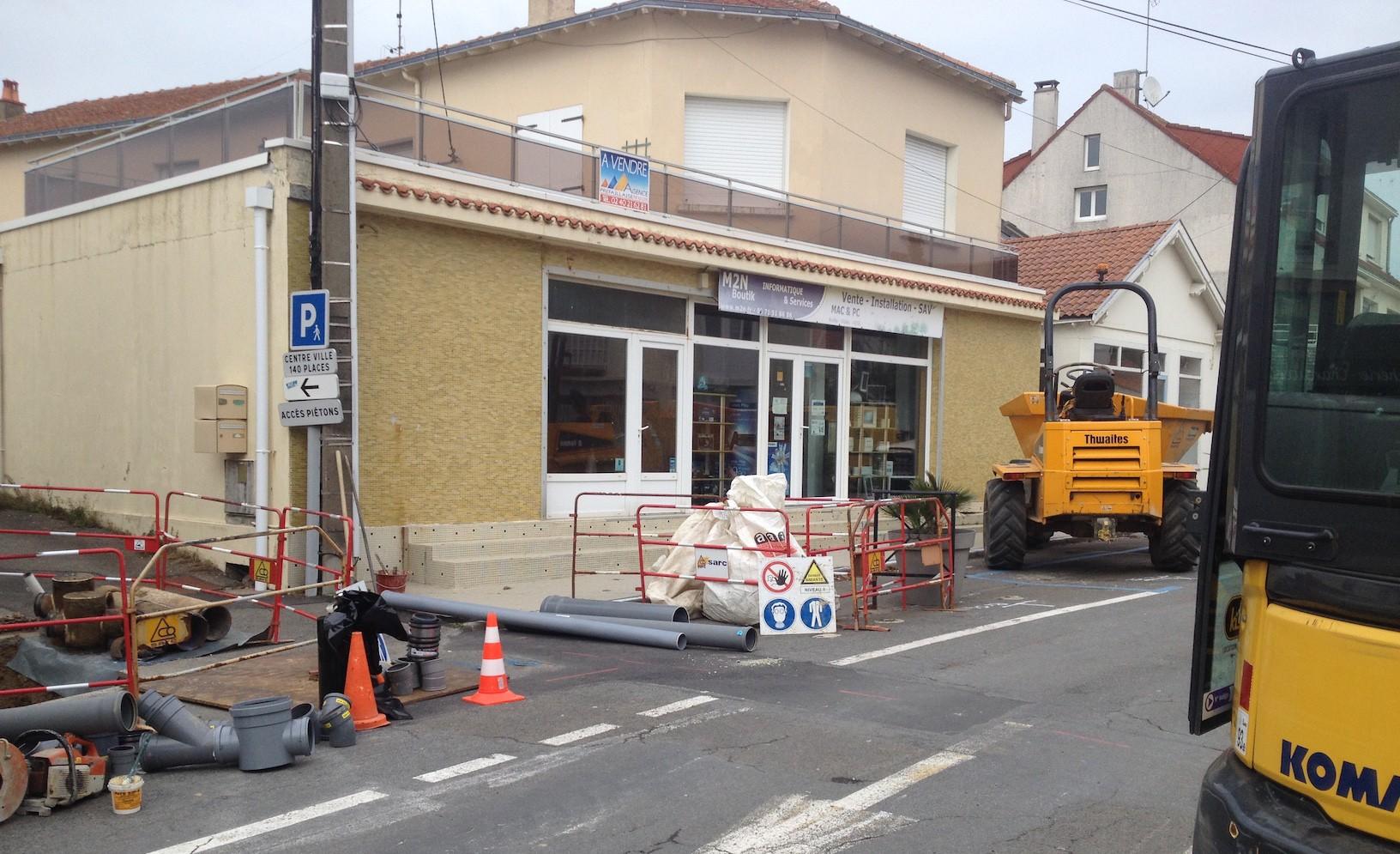 Pendant les travaux le magasin est ouvert m2n informatique pr failles - Magasin ouvert aujourd hui haut rhin ...